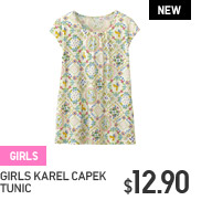 GIRLS KAREL CAPEK TUNIC