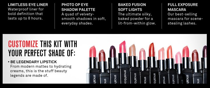 Customize This Kit With Your Perfect Shade Of Be Legendary Lipstick