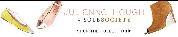 Julianne Hough for Sole Society - Shop the Collection