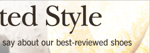 See what our customers have to say about our best-reviewed shoes