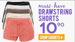 Shop Must-have Linen Shorts at $10.90