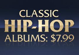 Classic Hip-Hop Albums: $7.99
