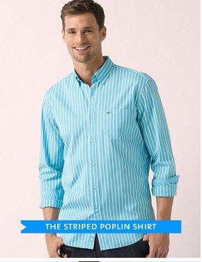 THE STRIPED POPLIN SHIRT