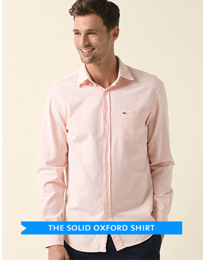 THE SOLID OXFORD SHIRT
