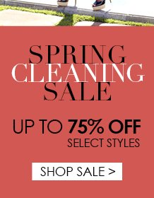 Shop Spring Cleaning Sale