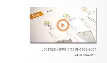 JOE FRESH SPRING '13 PHOTO SHOOT | #JoeFreshAtJCP