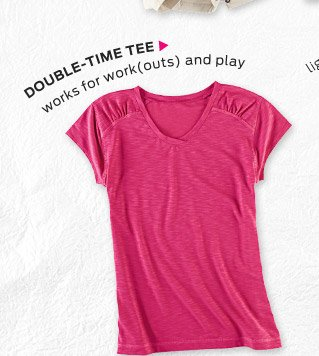 Double-Time Tee ›