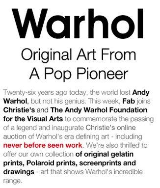 Warhol top left Image
