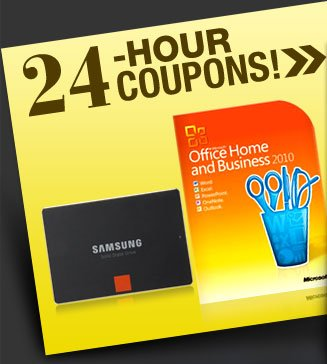 24-HOUR COUPONS! SSD, Office