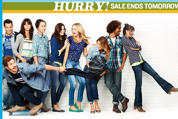HURRY! SALE ENDS TOMORROW, 2/27.