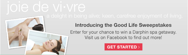 Introducing the Good Life Sweepstakes