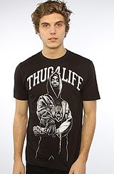 The For The Homies Tee in Black