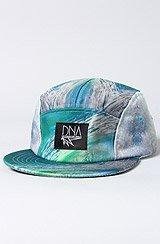 The DNA x Karmaloop 5 Panel Hat in Wave