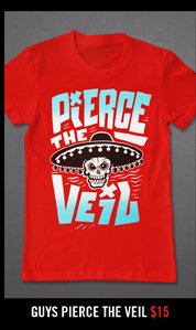 GUYS PIERCE THE VEIL