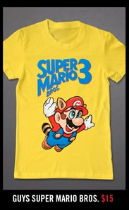 GUYS SUPER MARIO BROS.