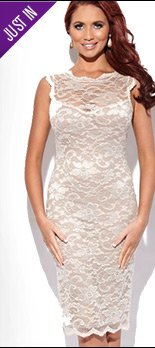 Amy Childs Lexie Sleeveless Lace Bodycon Dress