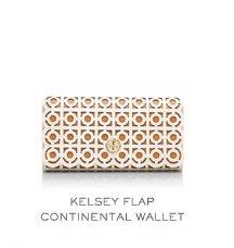 KELSEY FLAP CONTINENTAL WALLET
