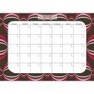 Loopy Dry-Erase Monthly Calendar
