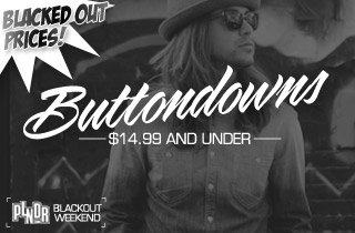 Blacked Out Prices: Buttondowns