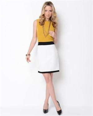 Voir Voir Striped Sleeveless Dress $19