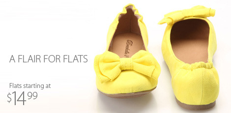 a flair for flats