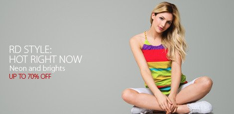 Hot Right Now: Neon & Brights