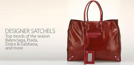 Designer satchels