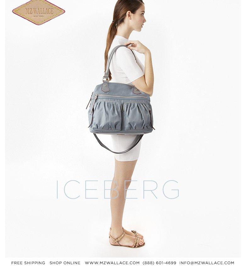 New for Spring 2013, Iceberg Bedford.