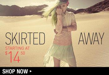 Skirted Away - Shop Now