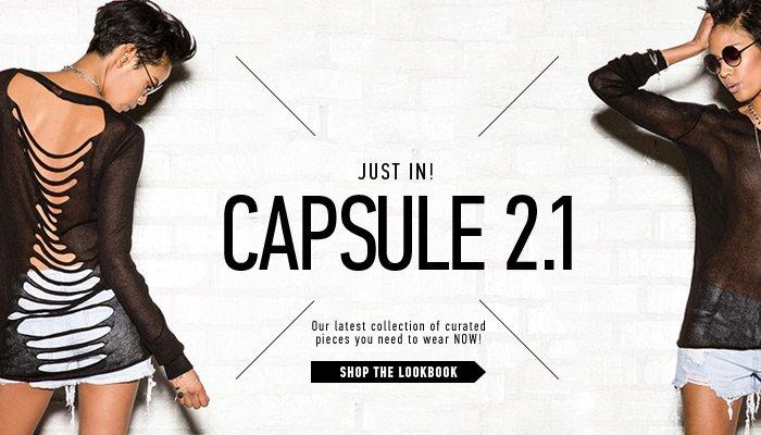 Web Exclusive Capsule Collection - Shop Now