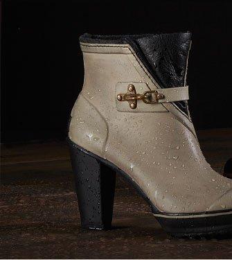 Women's Medina™ Rain Heel Boot: Silver Sage