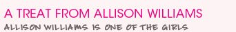 A Treat From Allison Williams - A New Simple Ambassador