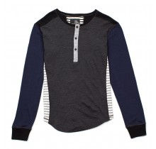 Wool Blend Fleece Combo Henley