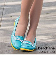 beach line boat shoe