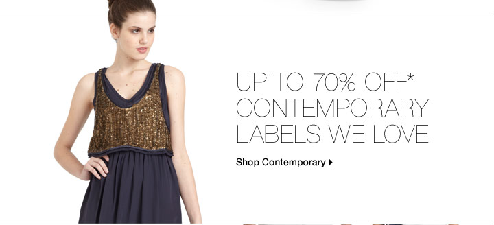 Up To 70% Off* Cool Labels We Love