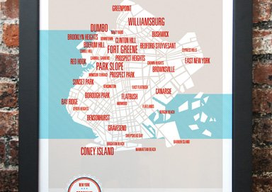Shop Rep Your 'Hood: City Posters & More