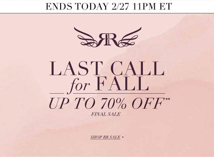 Shop RR Sale