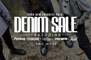 Your new favorite pair: Denim sale