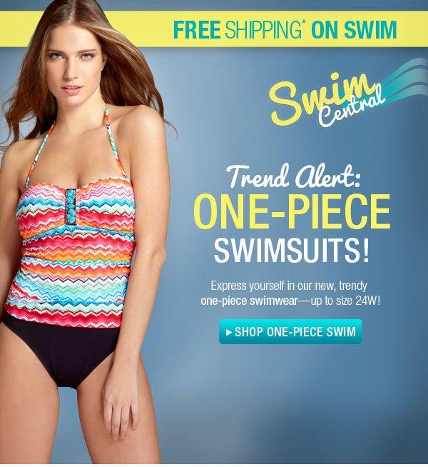 Shop One-Piece Swim