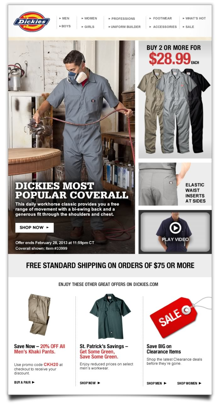 Dickies Offers