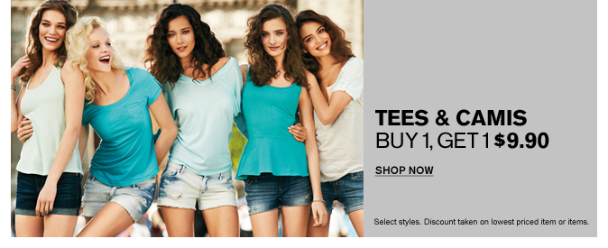 Shop Women's Tees & Camis