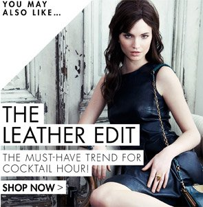 The leather edit