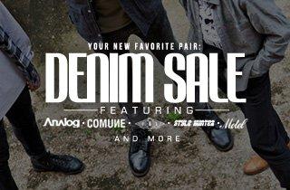 Your new favorite pair: Denim sale