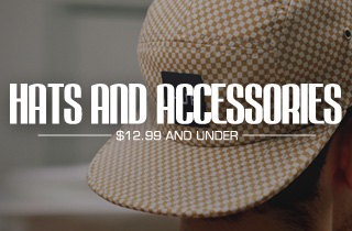Hats & Accessories 12.99 and Under