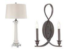 A Twist on Traditional Brass Lighting