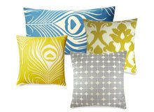 A Twist on Traditional Patterned Pillows