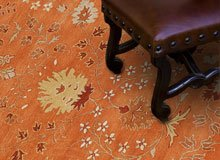 A Twist on Traditional Rugs