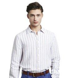 Underhill Stripe Linen Shirt