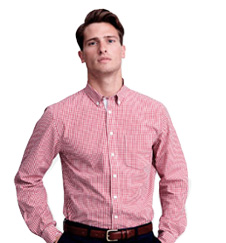 Lions Gingham Shirt