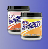 GU Brew Recovery Drink 14 svgs Canister